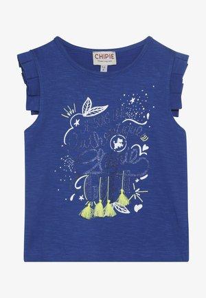 DÉBARDEUR - Print T-shirt - bleu électrique