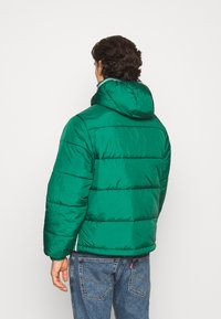 adidas Originals - HOODED PUFF - Veste d'hiver - green - 3
