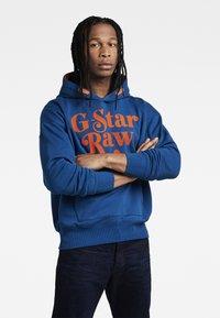 G-Star - UNISEX FOXY HDD SW - Hoodie - bhashor sweat r galaxy fisher - 1