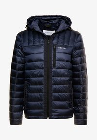 Calvin Klein - HOODED WADDED JACKET - Light jacket - blue - 3