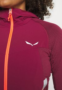 Salewa - ROLLE - Fleece jacket - rhodo red - 3