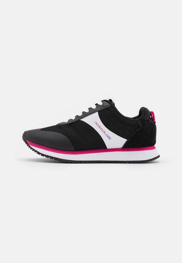 RUNNER LACEUP - Sneakersy niskie - black