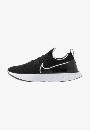 EPIC PRO REACT FLYKNIT - Obuwie do biegania treningowe - black/white/dark grey