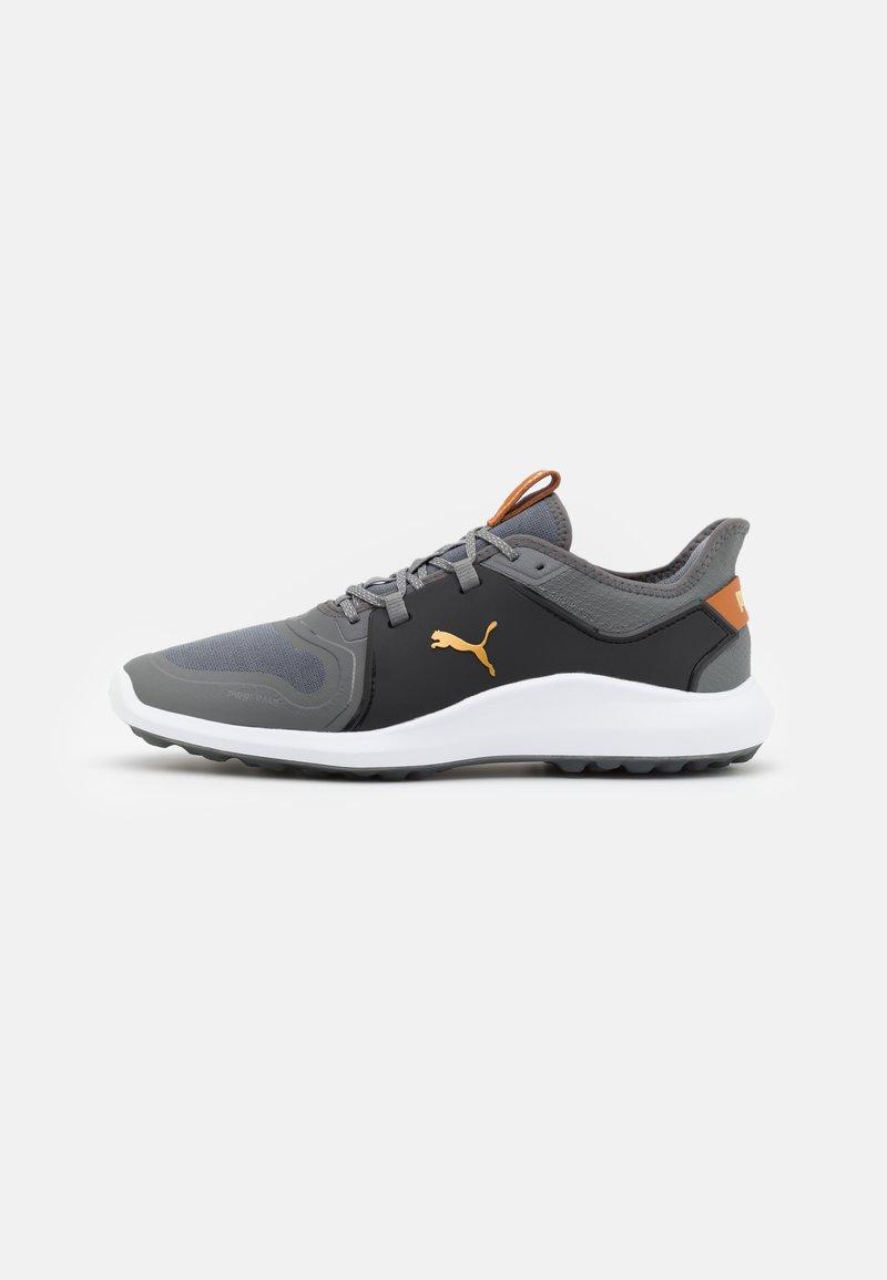 Puma Golf - IGNITE FASTEN8 - Golf shoes - quiet shade/gold/black