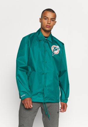 NFL MIAMI DOLPHINS COACHES JACKET - Windbreaker - dolphins blue