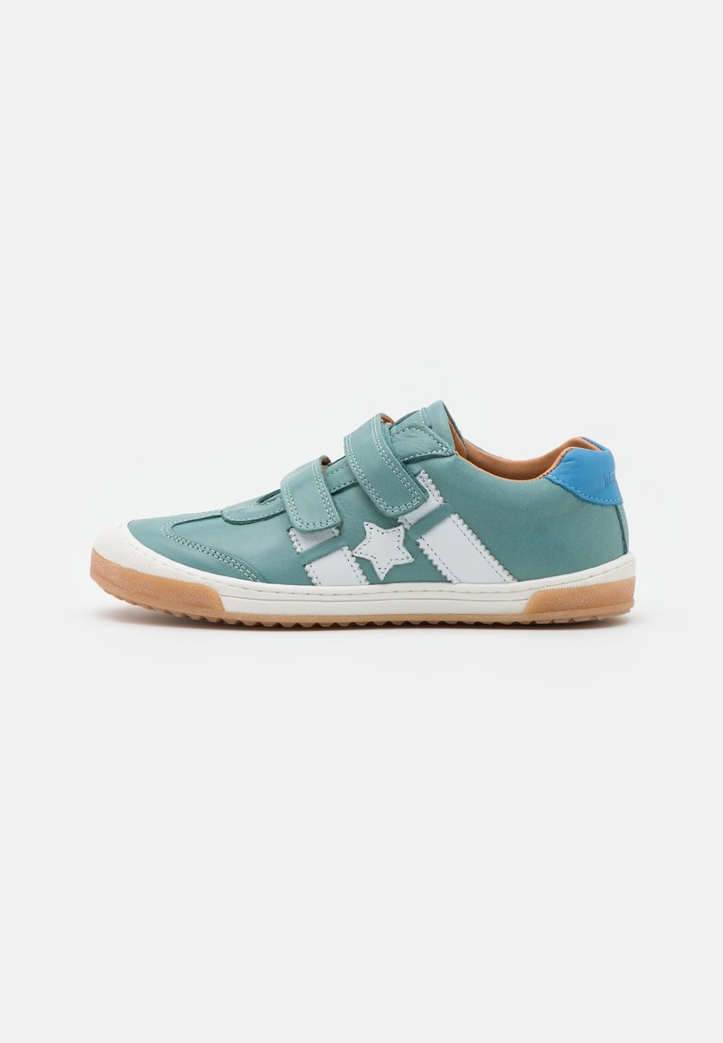 Bisgaard - JOHAN - Touch-strap shoes - mint