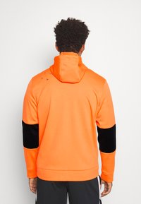 Jordan - AIR THERMA FULL ZIP - Fleece jacket - total orange/black - 2