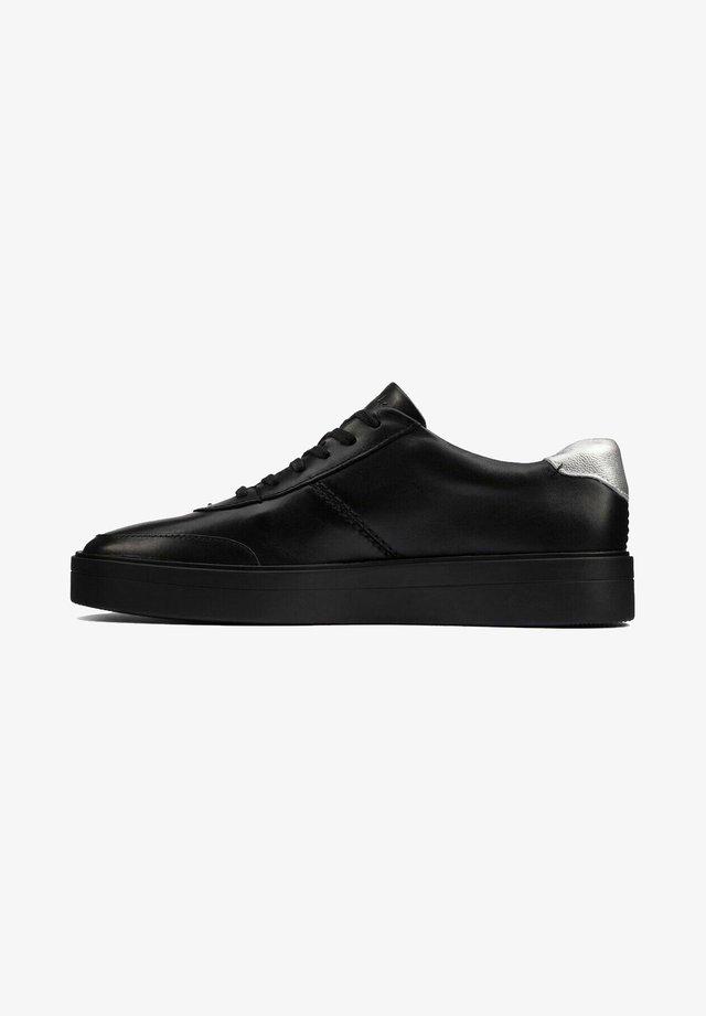 Sneakers laag - black/metallic