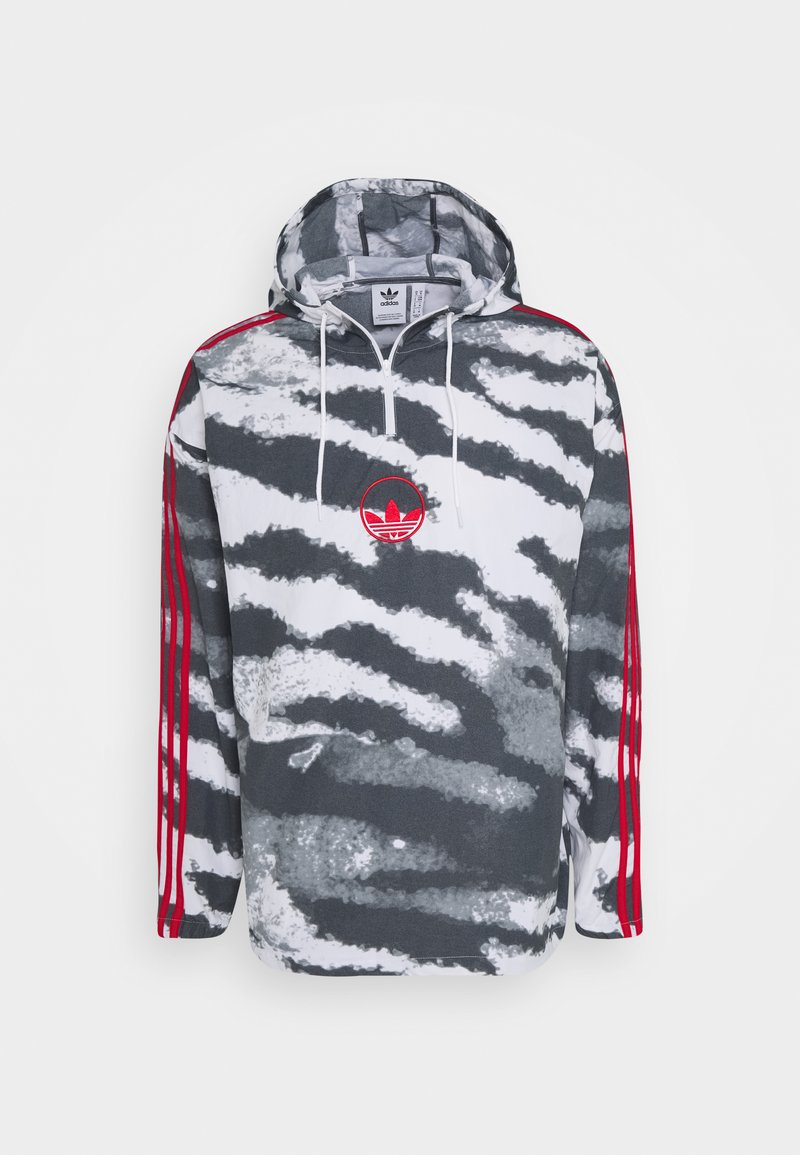 adidas Originals - ZEBRA ANORA - Summer jacket - white