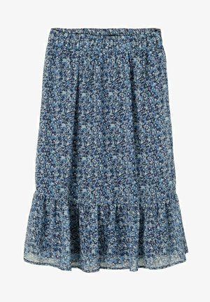A-line skirt - dress blues