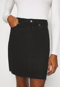 Dr.Denim Tall - MALLORY - Denim skirt - black - 3
