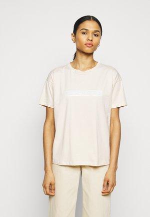 MAIN BLOCK - T-shirt imprimé - shell