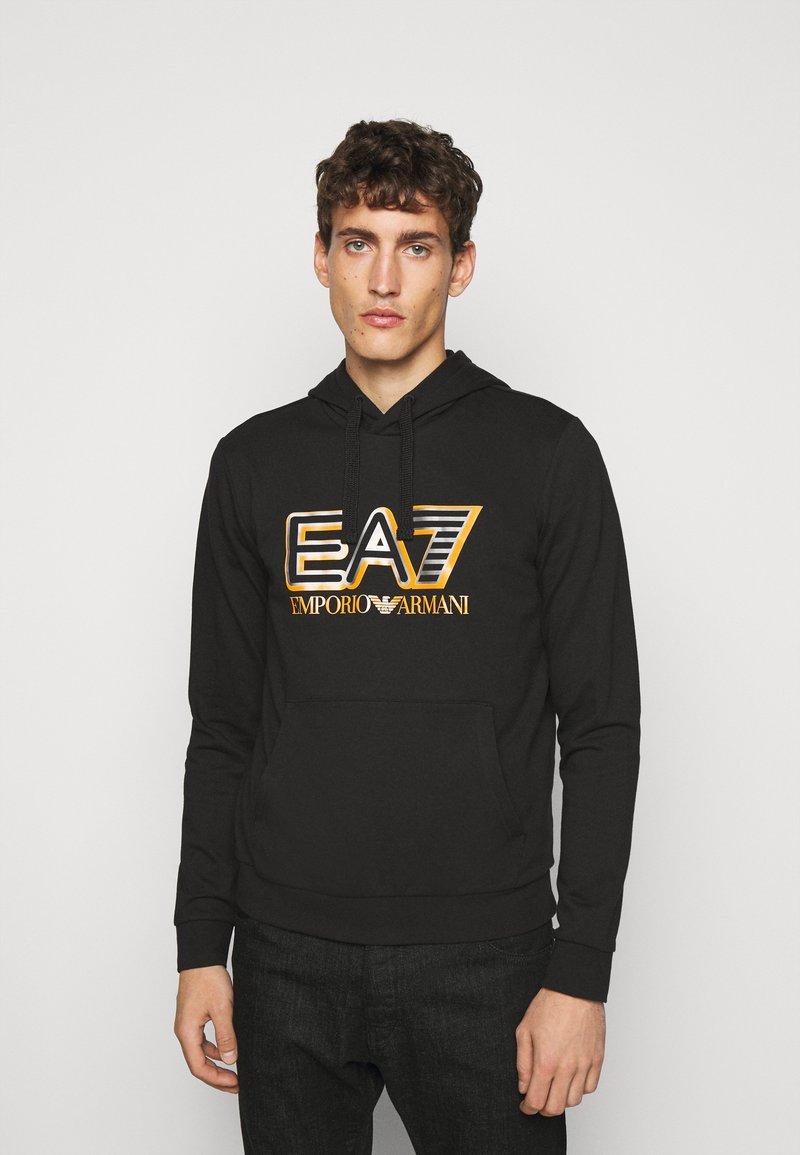EA7 Emporio Armani - FELPA - Hoodie - black