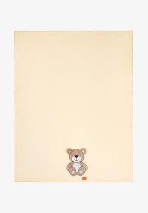 Baby blanket - ecru bear