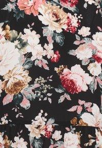 ONLY - ONLLARRY SHORT DRESS - Shirt dress - black - 2