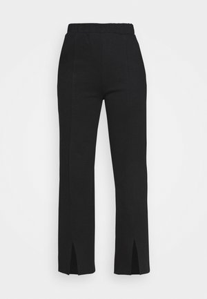 KLARA TROUSERS - Bukse - black