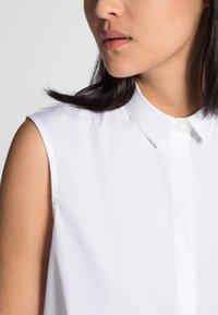 Eterna - PREMIUM - Button-down blouse - white - 2