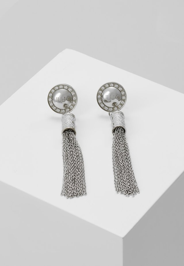 EARRINGS - Boucles d'oreilles - silver-coloured