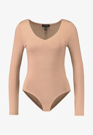 BODY - Long sleeved top - camel