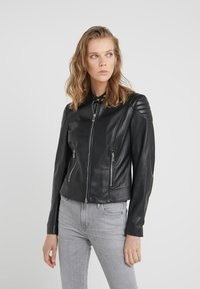Belstaff - MOLLISON - Leather jacket - black - 3