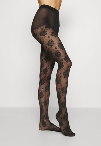 ROSE COUTURE TIGHT STYLE - Medias - black