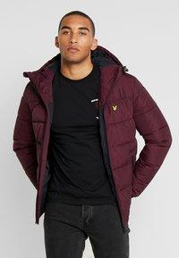 Lyle & Scott - WADDED JACKET - Winter jacket - burgundy - 0