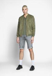G-Star - BASE V-NECK T S/S 2-PACK - T-shirt basic - oliv - 1