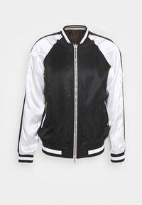 3.1 Phillip Lim - EXCLUSIVE REVERSIBLE SOUVENIR JACKET - Bomber Jacket - black/white/brown - 2