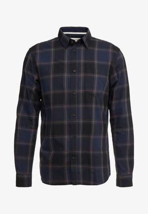 RAY CHECK - Shirt - black