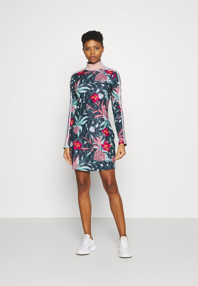 DRESS - Jersey dress - multicolor