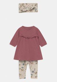 Name it - NBFLUISE GIFT SET - Leggings - Trousers - deco rose - 0