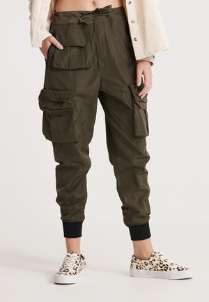 SUPERDRY NAMID CARGO PANTS - Cargo trousers - bungee cord