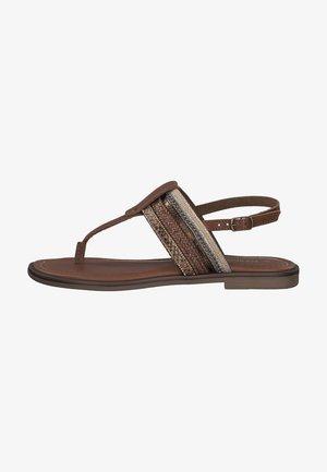 T-bar sandals - muscat comb