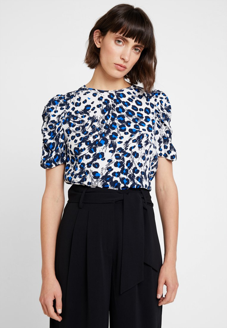 Whistles - BRUSHED LEOPARD SHELL - Blouse - white/multi