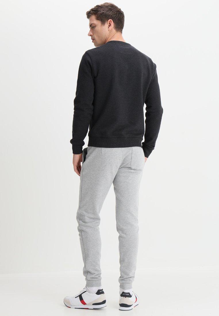 Farah Tim Crew - Sweatshirt Black Marl/svart