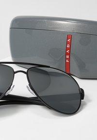Prada Linea Rossa - LIFESTYLE - Solbriller - black/grey/silver - 3