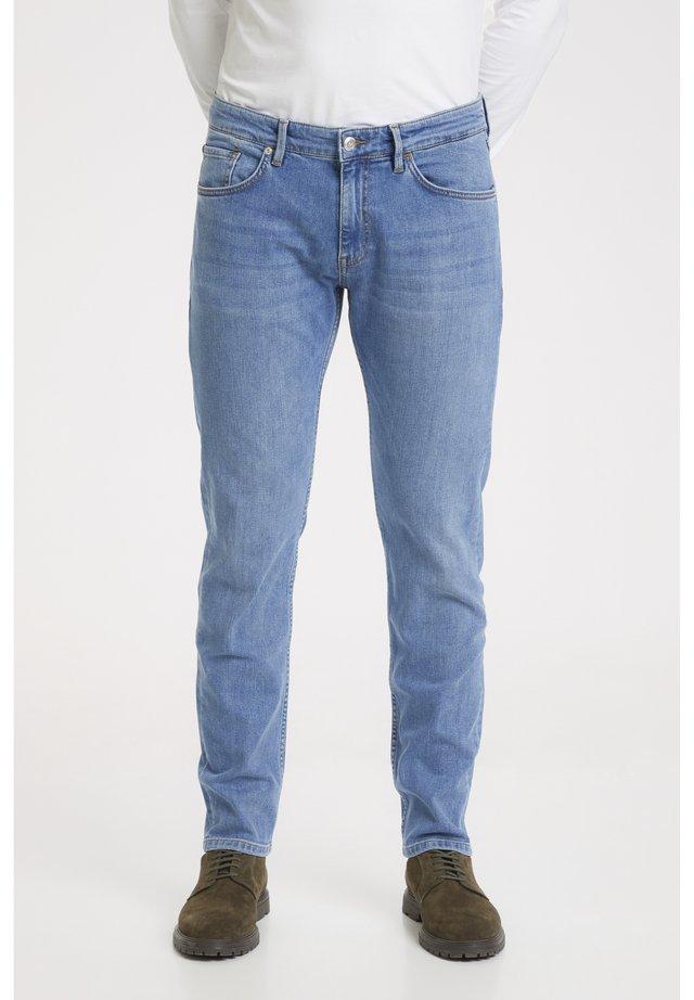 Jeans slim fit - light washed denim