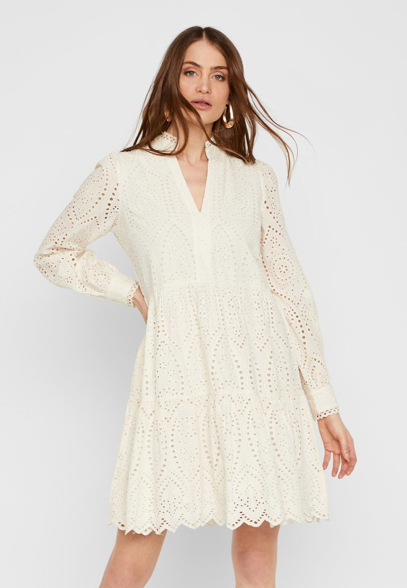 YAS - YASHOLI - Day dress - eggnog
