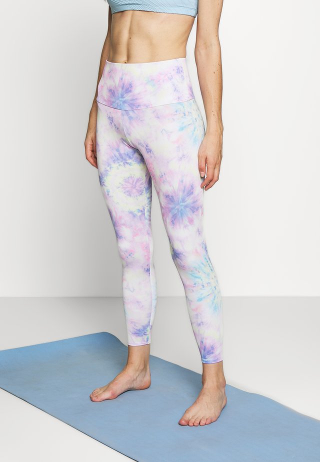 HIGH BASIC MIDI - Leggings - neon tie dye
