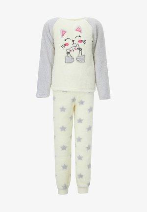 REGULAR FIT - Pyjama set - ecru