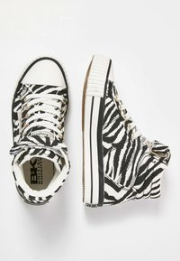British Knights - DEE - High-top trainers - zebra - 1