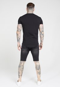 SIKSILK - T-shirts basic - jet black - 1