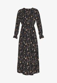 Vero Moda Tall - VMGALICE LS ANKLE DRESS - Vestito estivo - black/galice - 4