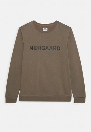 ORGANIC SOLOMINO - Sweatshirt - morel