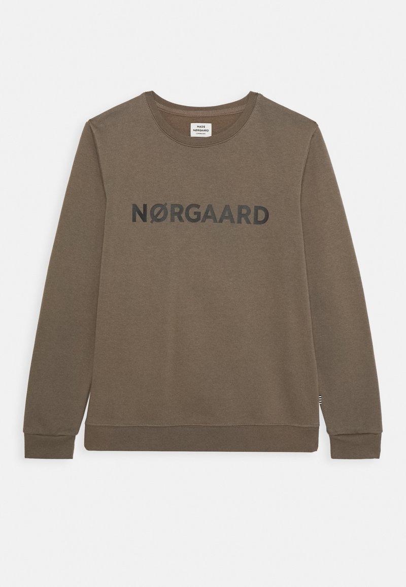 Mads Nørgaard - ORGANIC SOLOMINO - Sweatshirt - morel