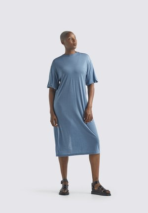 W COOL-LITE - Jersey dress - granite blue