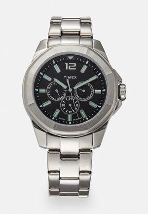 ESSEX AVENUE MULTIFUNCTION - Watch - silver-coloured/black