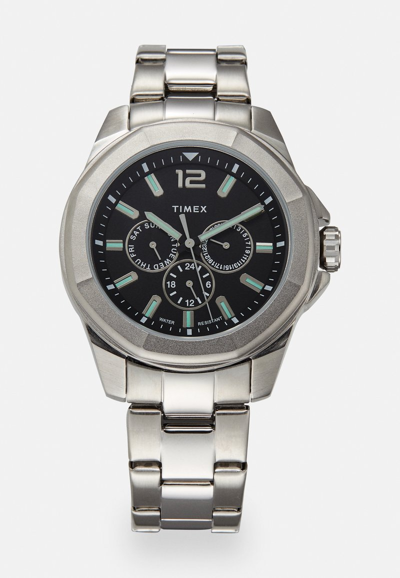 Timex - ESSEX AVENUE MULTIFUNCTION - Hodinky - silver-coloured/black