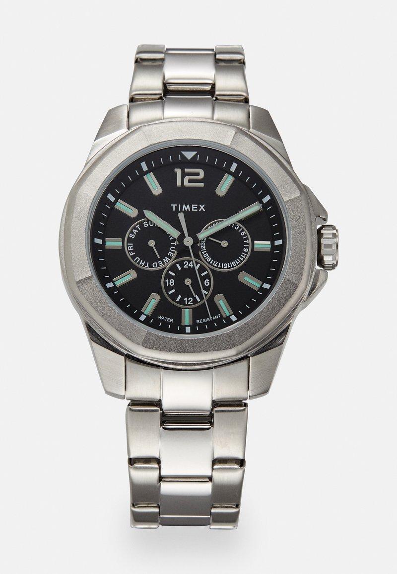 Timex - ESSEX AVENUE MULTIFUNCTION - Watch - silver-coloured/black