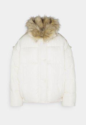 ULTIMATE PUFFER JACKET - Winter jacket - cream